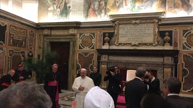 Pape François, 3 novembre 2016