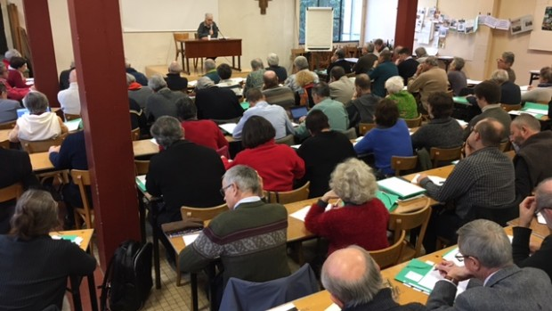 20-22 janvier 2017 : 80 délégués diocésains en session à Orsay