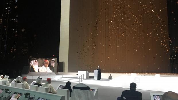 Le Grand Imam d'Al-Azhar à Abu Dhabi