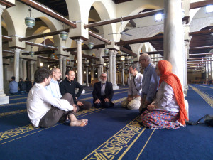 Le groupe THEOLOGIE EN DIALOGUE à la mosquée Al-Azhar